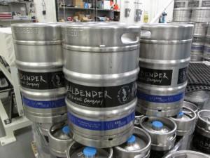 Hellbender Brewery Kegs