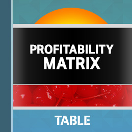 Profitability Matrix report cover