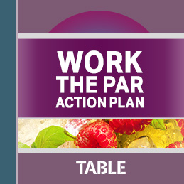 Work the Par Action Plan report cover